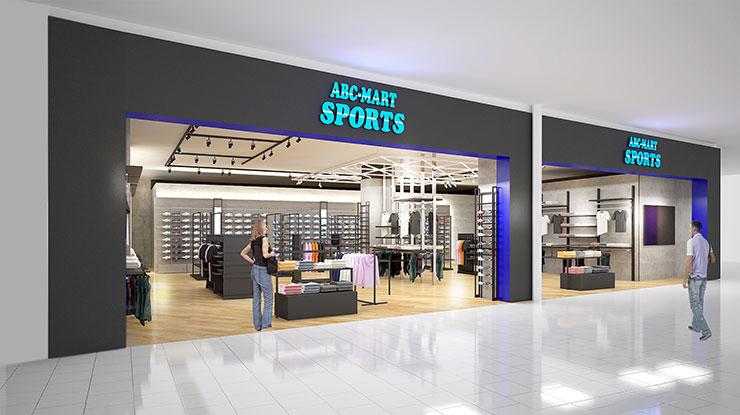 3 21 水 Abc Mart Sports モラージュ菖蒲店グランドオープン Abc Mart Sports Abc Mart スポーツ
