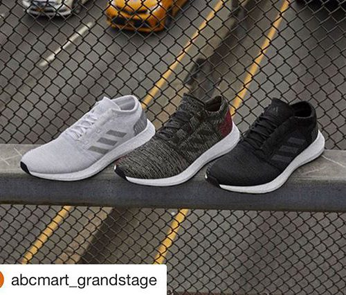 @abcmart_grandstage with @get_repost ・・・ . <8/30(THU)Release> adidas pureboost go ¥13,000+tax AH2311 WHT/GRY/GRY AH2319 BLK/GRY/GRY AH2323 BLK/BLK/SCR .