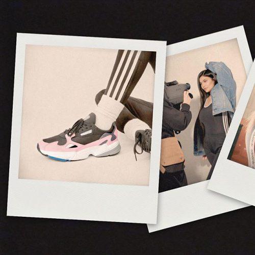 . adidas FALCON B28126 BLK/BLK/PNK B28127 GRY/GRY/GRN ¥9,990+tax .