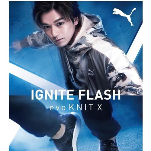 \新田真剣佑さん出演新TVCM「PUMA IGNITE Flash evoKNIT X」/ 驚異のリバウンドパワーとクッション性を発揮するソールと、快適なフィット感をもたらすニットアッパー、やわらかなインソールを採用した最新のシューズです。 「X」を大きく、印象的に取り入れた高いデザイン性は、その機能性に裏打ちされたスポーツシーンでの活用はもちろん、ストリート感覚のコーディネートと合わせて、普段使いでも活躍することは間違いありません。カラーバリエーションも豊富な本商品は、性別問わず、1足は手にしておきたい逸品です。 . @mackenyu.1116
