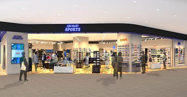 .<br /> 11/30(土)ABC-MART SPORTSが、新しくオープン!<br /> イオンモール大垣では、スポーツカジュアルを切り口とした「アスレジャー・ファッション」をコンセプトに、厳選したスニーカー・スポーツアパレルを提案します。<br /> .<br /> オープン記念として11/30(土)~12/9(月)まで2点税込10,000円以上お買い上げで1,000円OFF、<br /> 2点税込20,000円以上お買い上げで2,000円OFFと特別企画を行います。さらにABC-MARTアプリがPOINT3倍になります。<br /> .<br /> 最新トレンドを発信し続けますので、皆様のご来店を心よりお待ちしております。<br /> .
