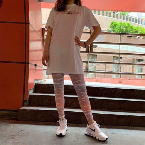 こんにちは キャナルシティ店です🥤 ・ 本日は、新作のPUMAウェアのご紹介です🐆🤍 ・ タイツは、今年トレンドのタイダイを取り入れたデザインになっており、パステルカラーがとっても爽やかで可愛いんです🩰♡ Tシャツワンピースは、薄手で素材が柔らかいのでサラッと着れます! ・ 【PUMAウェア】 ワンピース:W TIE DYE ドレス 598506-02 WHT ¥4,500+tax ・ タイツ:W TIE DIE AOP レギンス 598510-18 AQUAMARINE 598510-01 BLK 598510-46 PURPLE ¥4,500+tax