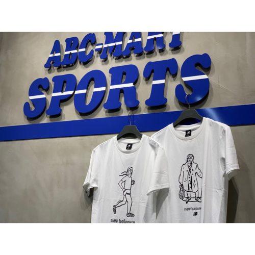 ・ ・ こんにちは ABC SPORTSイオンモール高岡店です ・ ・ new balanceからTシャツのご紹介です🤍🤍 黒と白のシンプルなラインですがとってもユニークなので 是非ペアルックにオススメです ・ ・ *Tシャツ N.GRAPH GRANDMA SKATE TEE AMT03519WT WHITE ¥4,900+tax N.GRAPH SUMO WRESTLER TEE AMT03520WT WHITE ¥4,900+tax N.GRAPH RETRO RUNNER TEE AMT03521WT WHITE ¥4,900+tax ・ ・